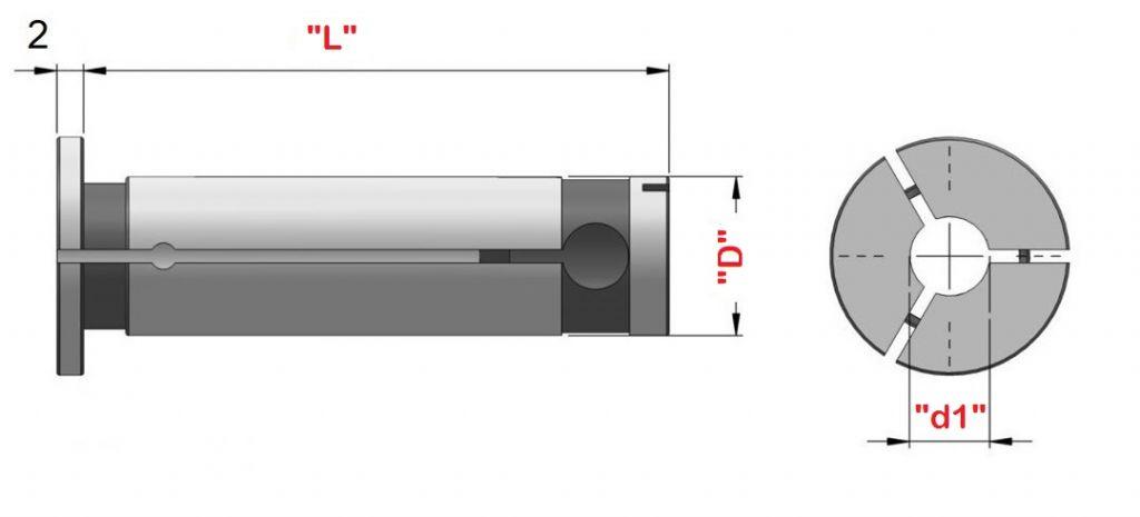 Bussole per chiusura idraulica